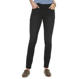 Sonoma NWT Black High Rise Skinny Jeans Size 18
